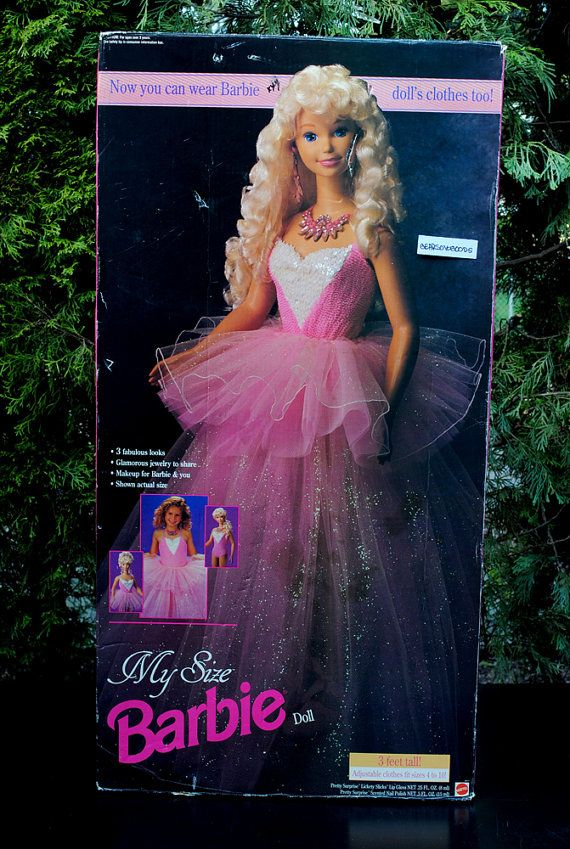My Size Barbie | 55 Toys And Games That Will Make '90s Girls Super Nostalgic