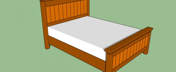 How to make a bed frame