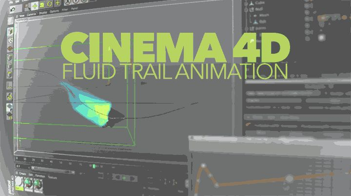 learn how TurbulenceFD can make it easy to create fluid ink or smoke trails in Cinema 4D for animated moving objects in the scene.