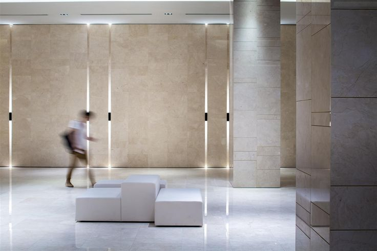 Corridor design at China Square Central, Singapore by DP Design