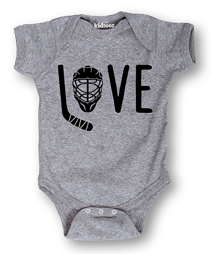 Another great find on #zulily! 'Love' Hockey Bodysuit - Infant by Sporteez #zulilyfinds