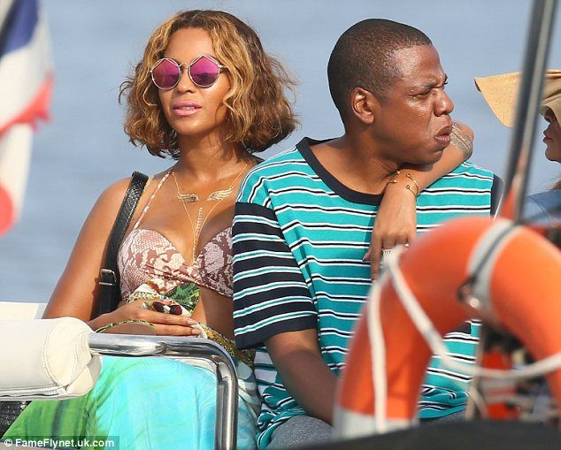 He's got 99 problems but marriage isn't one: Jay-Z and Beyonce effortlessly quashed divorce rumours