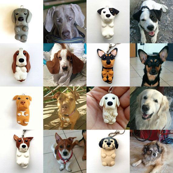 My Dog Keychain Customized with YOUR DOG by QuareNick on Etsy