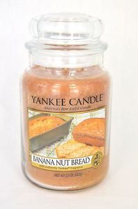 Bougie Grande Jarre Yankee Candle Banana NUT Bread Large JAR Exclu US | eBay