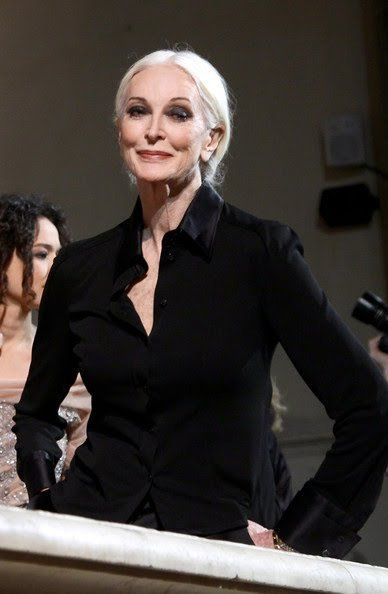 Carmen Dell'Orefice (born June 3, 1931) ... the oldest model in the world modeling for the last 66 years, placing herself in the Guinness Book of World Records.