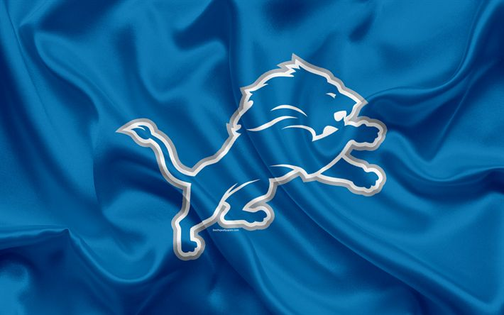 Download wallpapers Detroit Lions, American football, logo, emblem, NFL, National Football League, Detroit, National Football Conference https://www.fanprint.com/licenses/detroit-lions?ref=5750