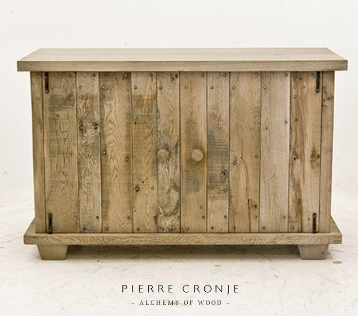 A Pierre Cronje 2-door Karoo Sideboard in French Oak