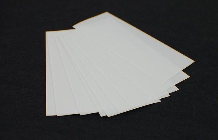 10 pcs White Pre Cut 18650 Battery PVC Heat Shrink Wrap Rewrap Damaged Batteries #UnbrandedGeneric