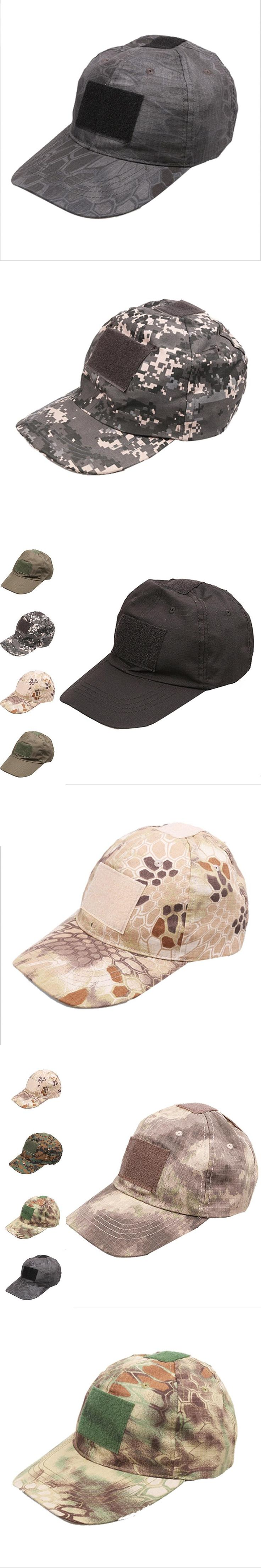 Mens Army Camo Cap Baseball Casquette Camouflage Hats For Men Hunting Camouflage Cap Women Blank Desert Camo Hat Male17 color