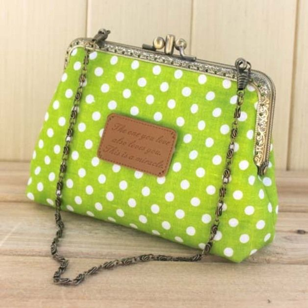 Guide cucito borse - Kit fai da te - Pacchetto oro bocca con Catena - un prodotto unico di One-Stop su DaWanda