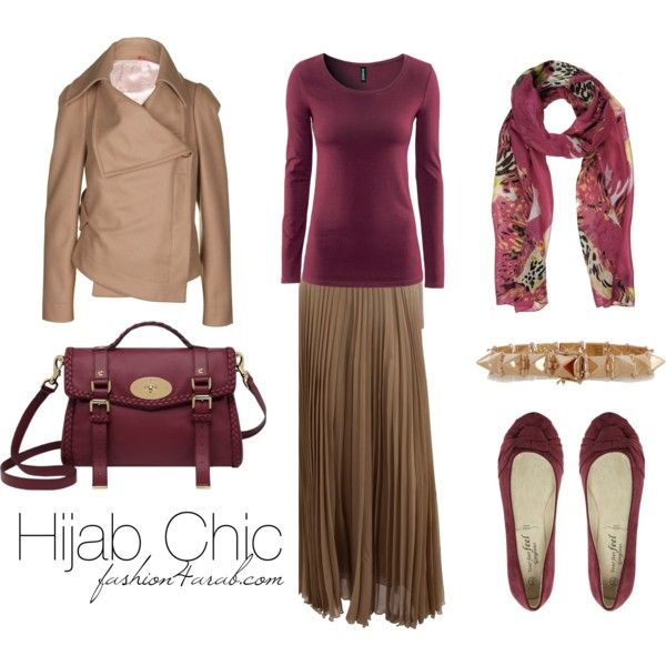 """""""Hijab Chic Outfit"""" by fashion4arab on Polyvore"""