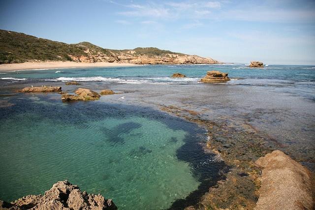 Back Beach, Sorrento, Mornington Peninsula National Park, Victoria, Australia