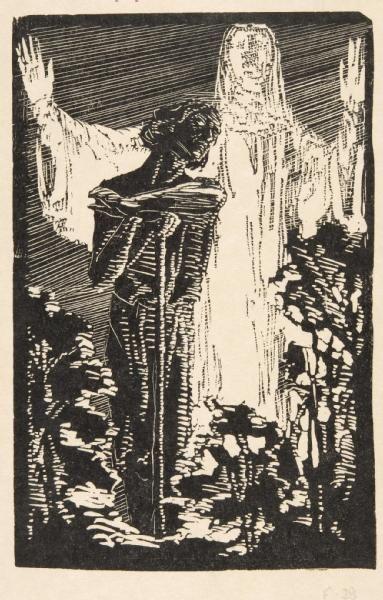 František Bílek  I am a gardener of your garden,1915