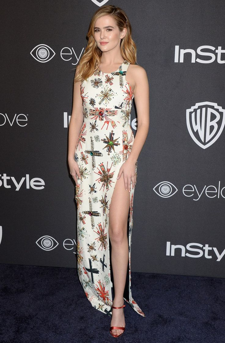 ZOEY DEUTCH at Warner Bros. Pictures & Instyle's 18th Annual Golden Globes Party in Beverly Hills 01/08/2017