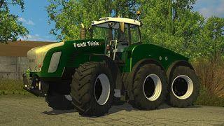 farming simulator 2015 Free Mods: Farming simulator 2015 Fendt Trisix tractor