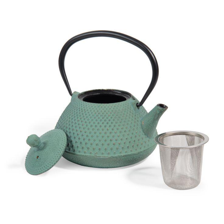 Blue Cast Iron Teapot Maisons Du Monde