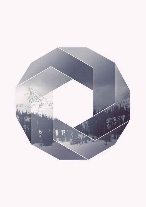 Вдохновение в стиле геометрического минимализма - Flatro.ru
