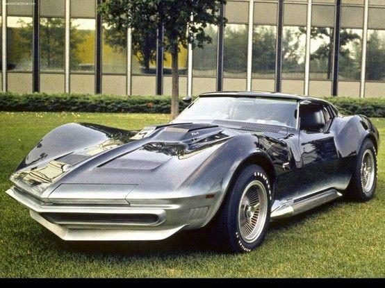 Mako Shark Corvette concept