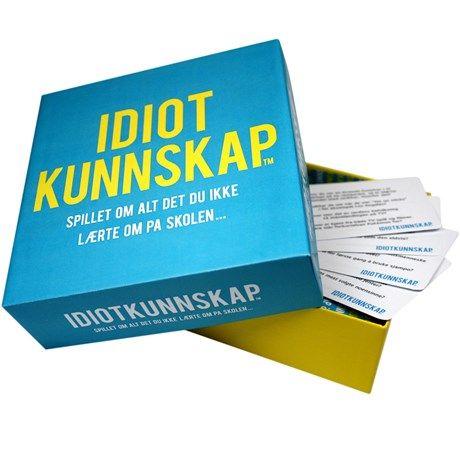 Idiotkunnskap – Spillet om alt det du ikke lærte på ...