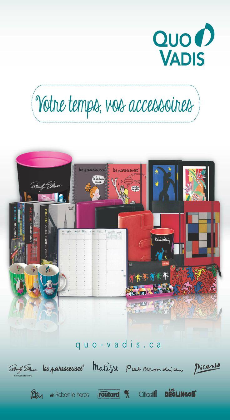 Votre temps, vos accessoires par Quo Vadis / Your time, your accessories by Quo Vadis