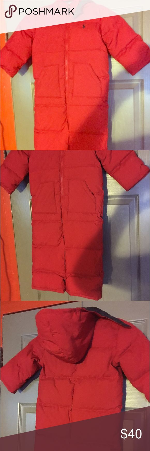 Toddler Snow suit Toddler never worn red snow suit 24 months brand new condition Polo by Ralph Lauren Jackets & Coats Puffers