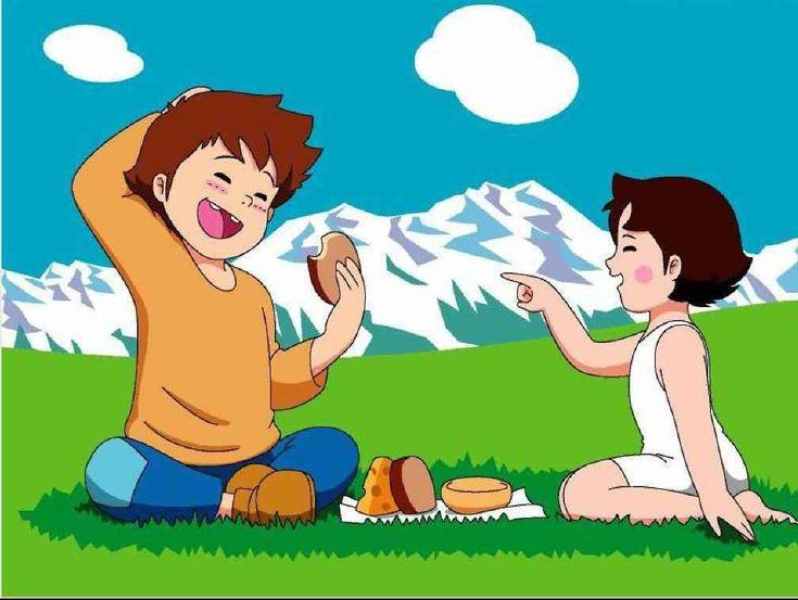 i love heidi cartoon
