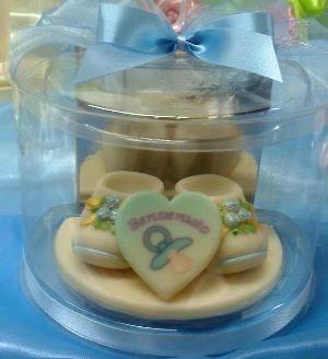 Stampo Scarpine neonato - decorazioni torte battesimo Scarpine neonato, bomboniere Battesimo commestibili