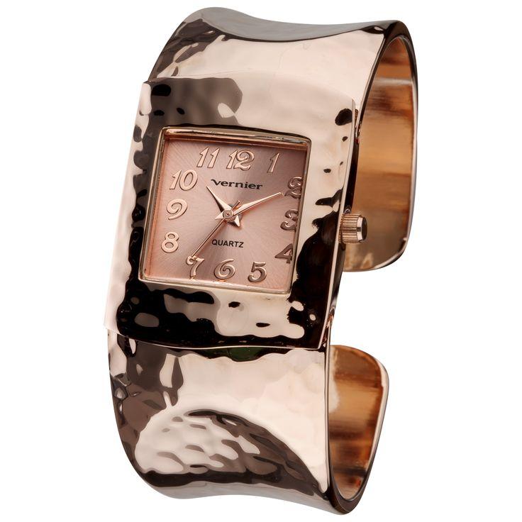 Rose Tone Bracelet Watch