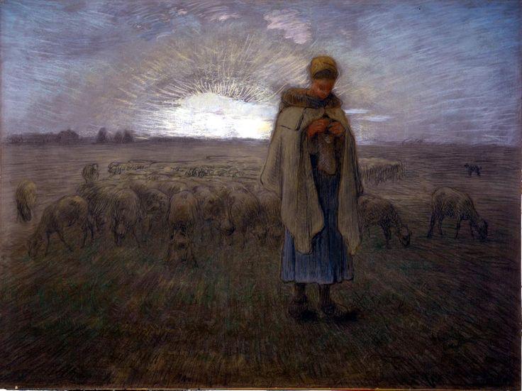 Jean-François Millet, Sheperdress
