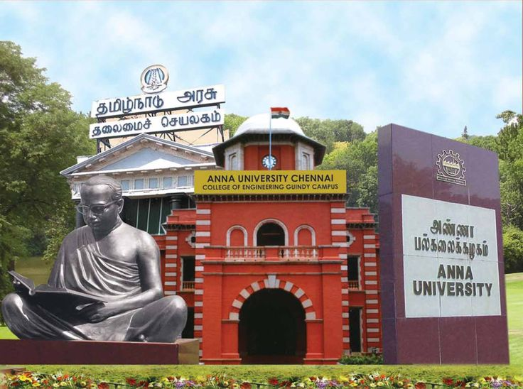 Anna University one of the leading University from South of India