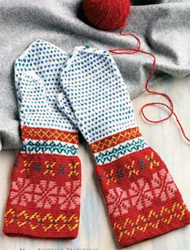 Ravelry: Korsnäs-Inspired Mittens pattern by Carol Huebscher Rhoades