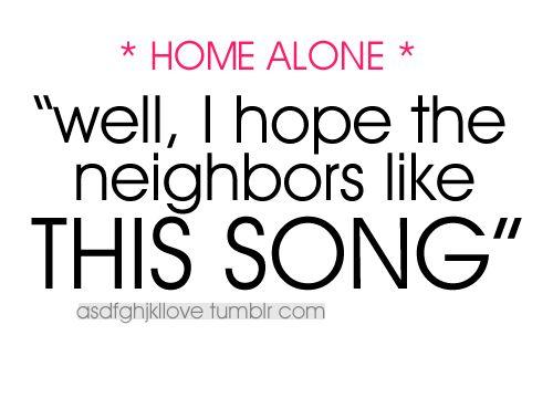 *home alone*