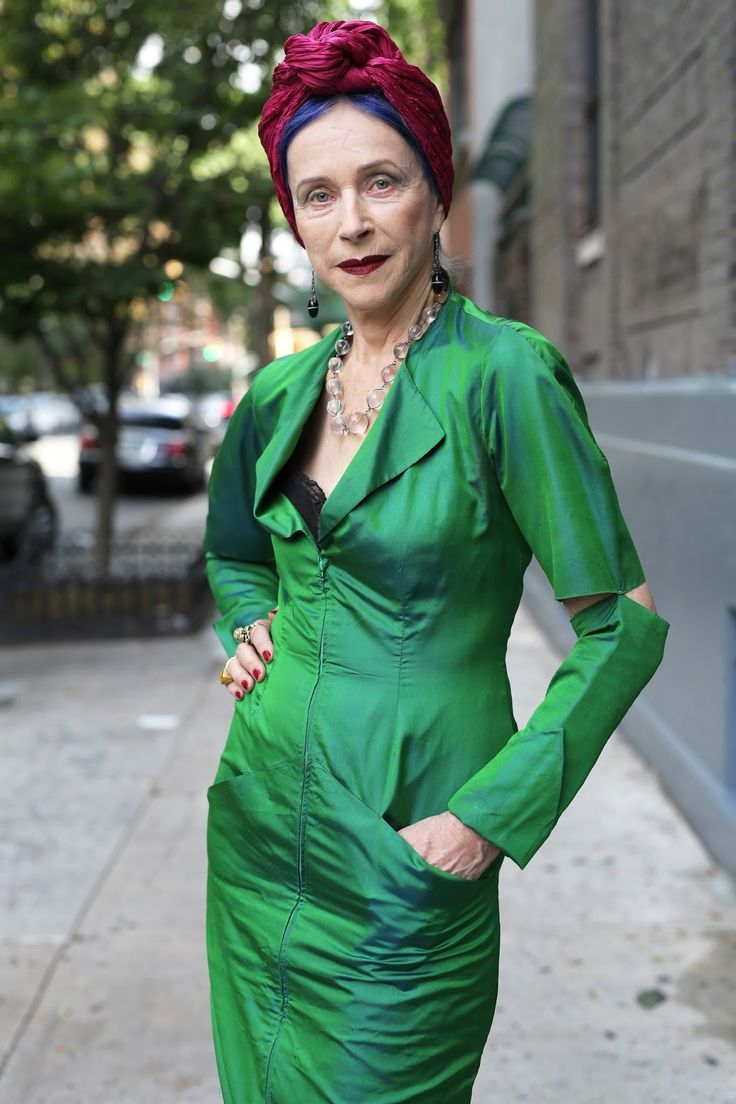 ADVANCED STYLE: Beatrix Ost, East Village