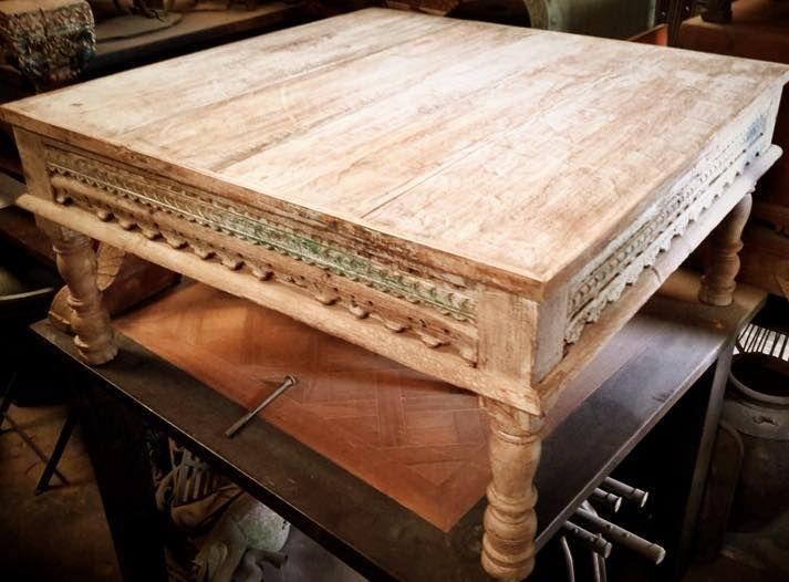 top table basse fabrique partir de boiserie anciennes et de vielles poutres wwwnarreo with table. Black Bedroom Furniture Sets. Home Design Ideas