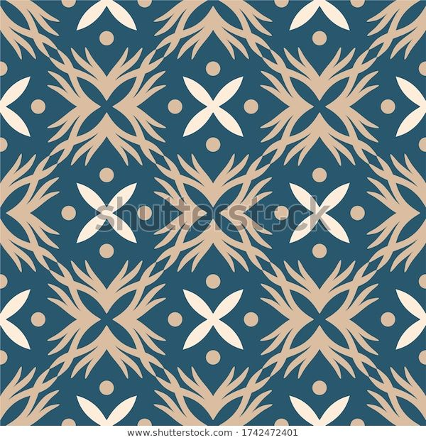 Find Batik Indonesia Seamless Pattern Traditional