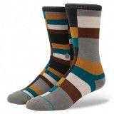 Les chaussettes Stance Vanish sont originales,dans des tons marron, rouge et jaune. Elles seront vous accompagner sur les spots de surf, skate(...)