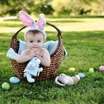 """Easter Portrait ~~~ What a cute """"Easter"""" pic!!!!!"""