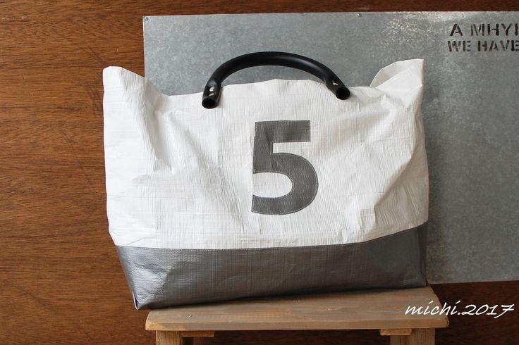 ホームセンターにあるものでバッグを作ってみた。