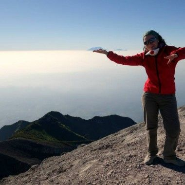Hiking on Merapi – the most active volcano in Indonesia
