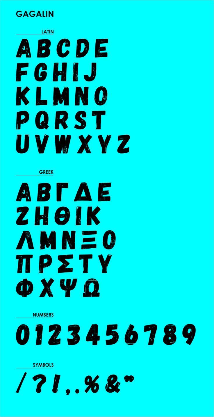 Gagalin // Free Font on Behance