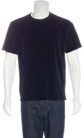 Our Legacy Velour Short Sleeve T-Shirt
