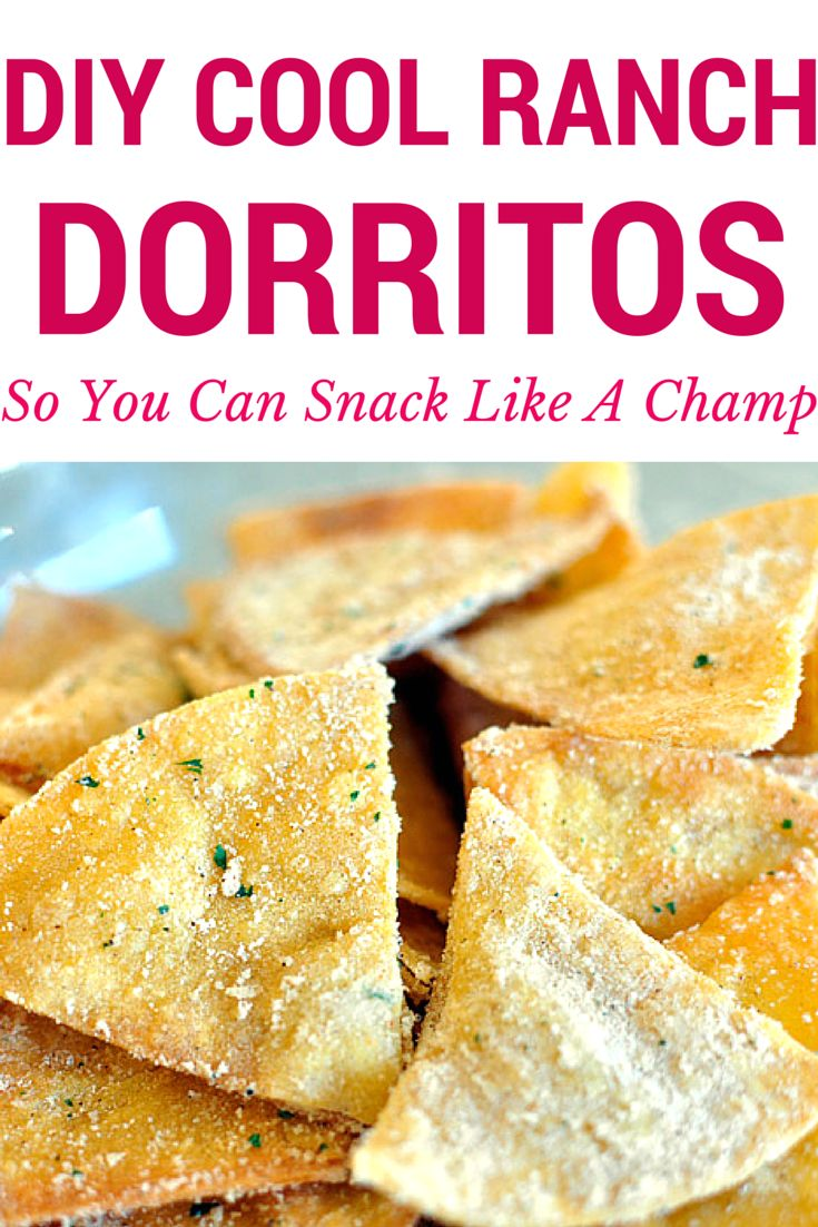 Who doesn't love a good bag of doritos?! Now you don't need to go to the store to snack on your favorite chips--make them in your own kitchen! Not to mention they're easy af to make.