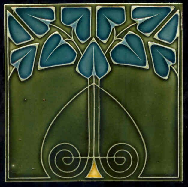 art nouveau tile (Frank Lloyd Wright)
