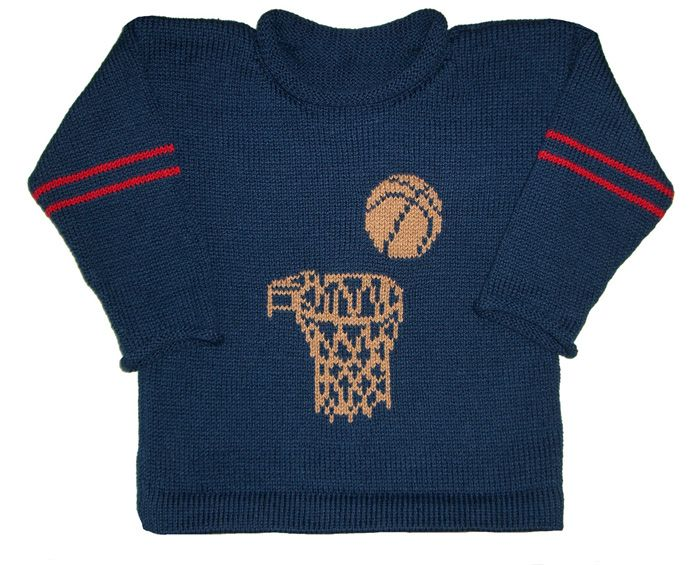81 best sports themed baby gifts images on pinterest baby boys personalized basketball cotton knit pullover is a great sweater for your little sports fan hand negle Choice Image