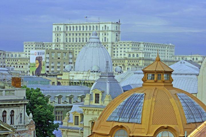 Rooftops of Bucharest