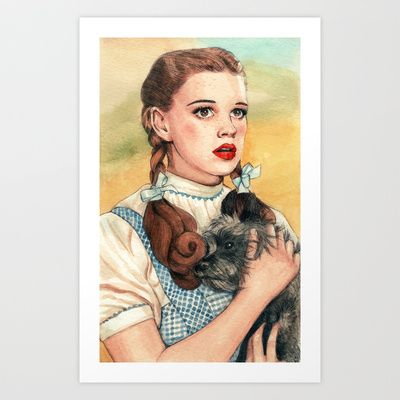 I Don't Think We're In Kansas Anymore Art Print by Helen Green - $15.00