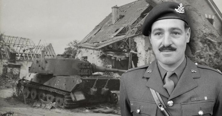 Major Cain, The One Man Tank Destroyer, Awarded a VC For Actions At Arnhem