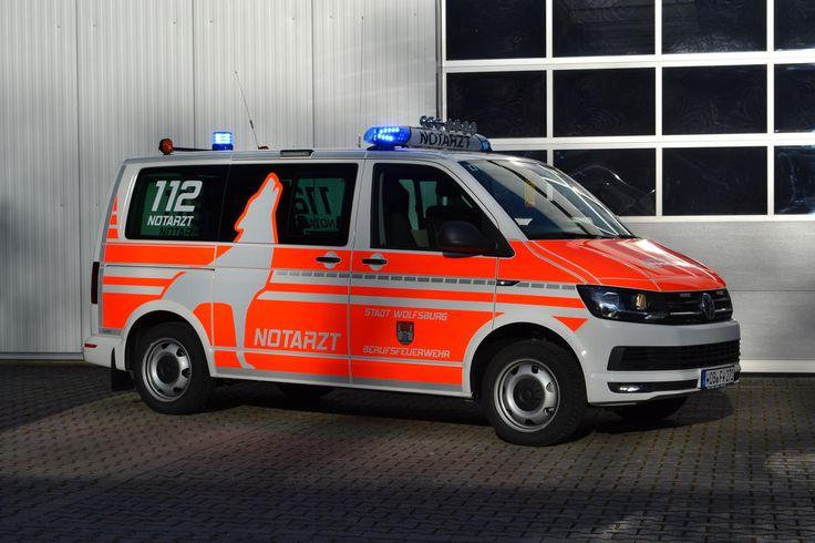 Berufsfeuerwehr Wolfsburg VW T6