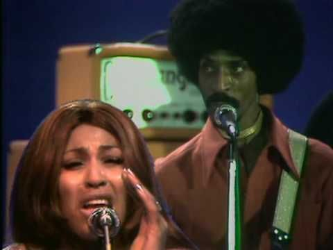 "IKE & TINA TURNER / PROUD MARY (1971) -- Check out the ""Super Sensational 70s!!"" YouTube Playlist --> http://www.youtube.com/playlist?list=PL2969EBF6A2B032ED #70s #1970s"
