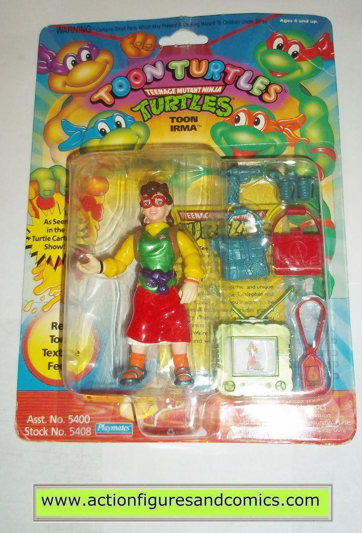 teenage mutant ninja turtles TOON IRMA 1992 vintage playmates toys mib moc mip tmnt #710